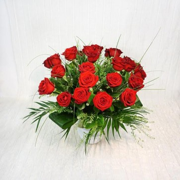Bouquet in Rose Rosse