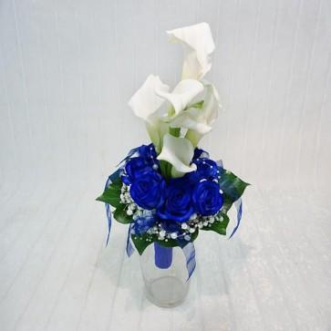Rose blu & Calle bianche