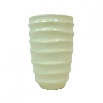 Vaso Crème in Ceramica