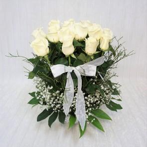 Giardino in Rose bianche